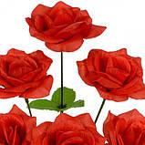 Искусственные цветы букет розочек, 33см, фото 2