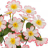 Искусственные цветы букет примулы высокие, 34см, фото 2