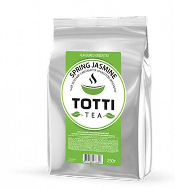 """ТОТТІ Tea """"Весняний жасмин"""", зелений"""