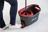 Набор для уборки Vileda Easywring & Clean Turbo (швабра и ведро с отжимом) (4023103194113), фото 10