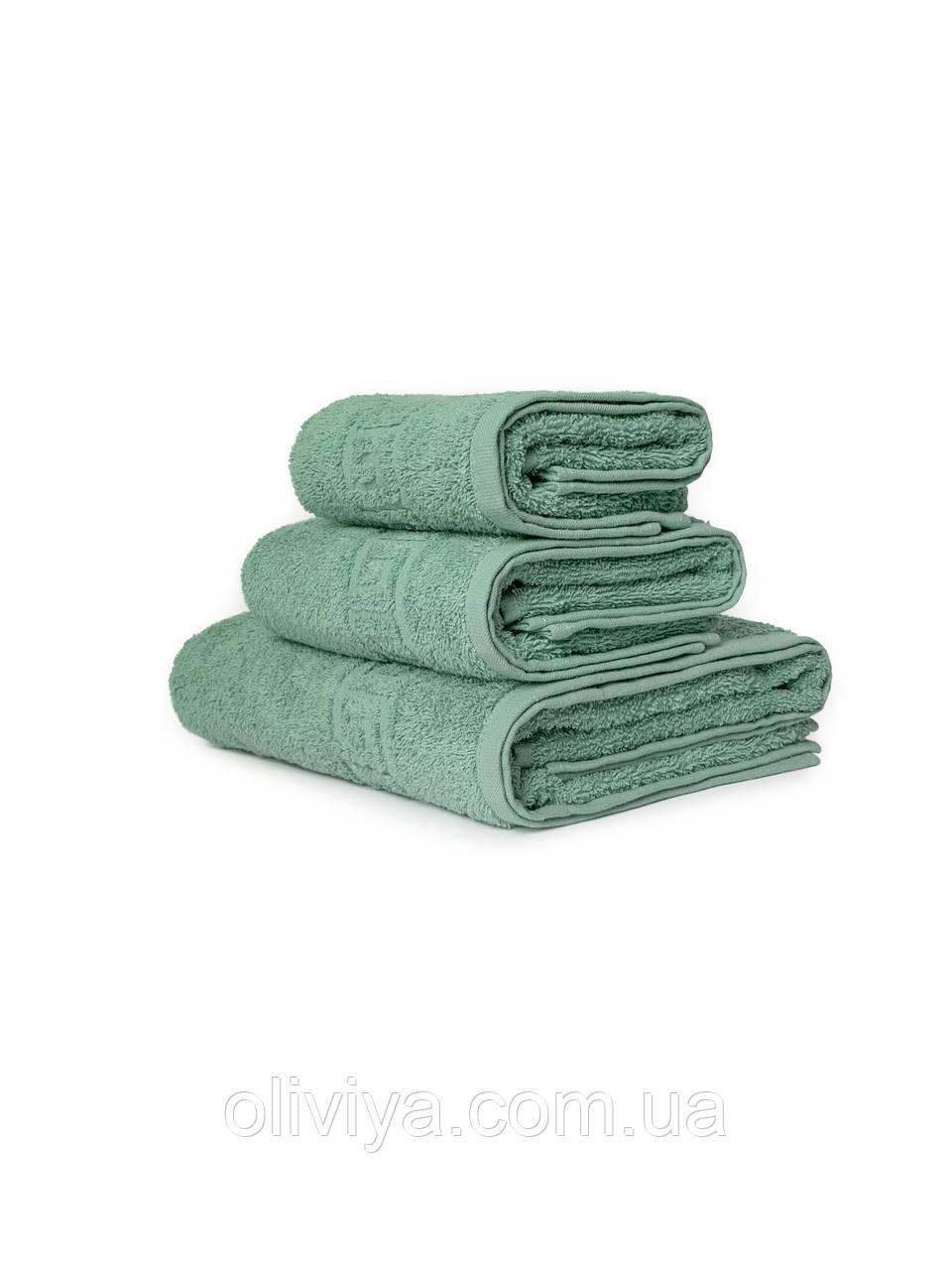 Махрові рушники для домашнього використання малахіт