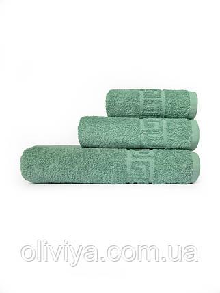 Махрові рушники для домашнього використання малахіт, фото 2