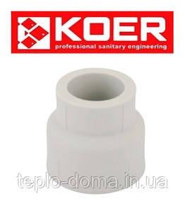 Муфта Редукционная PP-R D40х25 KOER