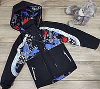 Детская куртка ветровка оптом 104-110-116-122-128