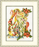 Набор для вышивки крестом Золотое Руно КП-002 Лето