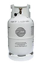 Газовий балон, вибухобезпечний 11кг, 27л. GRILLI 777724
