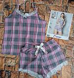 Пижама трикотажная майка с шортами, фото 4