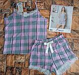 Пижама трикотажная майка с шортами, фото 3
