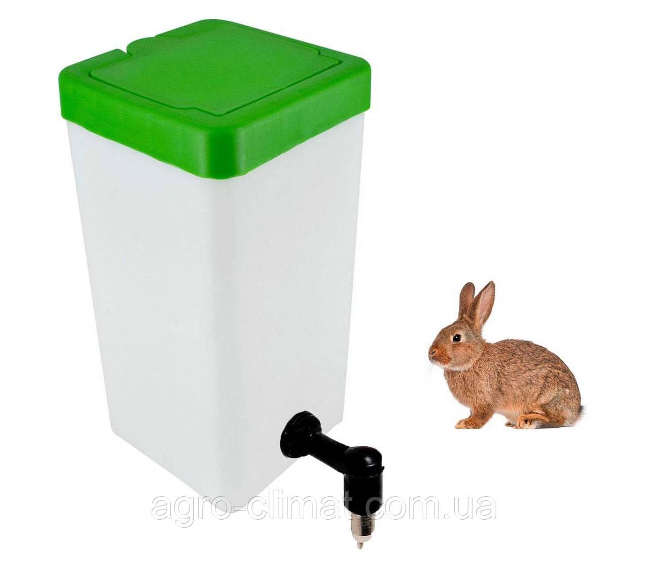 Поилка для кроликов Tehnomur 1 л.