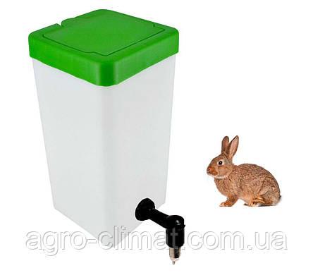 Поилка для кроликов Tehnomur 1 л., фото 2