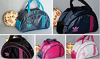 Стильная спортивная женская сумка ADIDAS Размер 44х29, фото 1