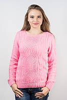 Кофта женская узор розовая р.46-48 AL82