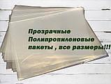 Пакет прозорий поліпропіленовий 20*25\25мк (1000 шт), фото 3