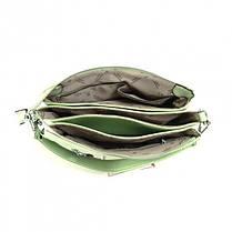 Жіноча сумка крос-боді Velina Fabbiano 551747-30 зелена, фото 2