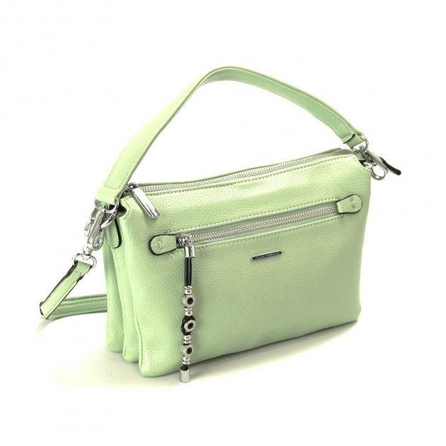 Жіноча сумка крос-боді Velina Fabbiano 551747-30 зелена