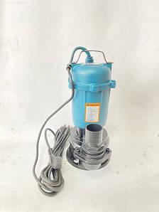 Насос дренажно-фекальный AL-FA ALWQD 75 2800W со встроенным измельчителем для защиты насоса от засорения