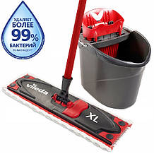Набор для уборки Vileda UltraMax XL (швабра и ведро с отжимом)