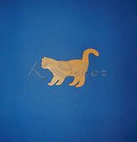 Кошка заготовка для декупажа и росписи