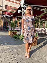 Легкое летнее платье,размеры:50,52,54,56.
