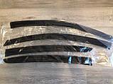 Вітровики (дефлектори вікон) Kia Cerato III Sd 2012 TT, фото 3
