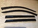 Ветровики (дефлекторы окон) Nissan Qashqai I 2006-2014 TT, фото 2
