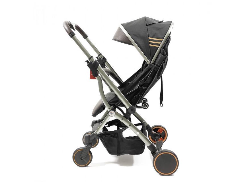 Прогулочная коляска с перекидной ручкой Panda Q5 Brown