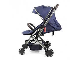 Прогулочная коляска с перекидной ручкой Panda Q5 Blue