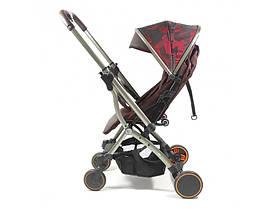 Прогулянкова коляска з перекидною ручкою Panda Q5 Red