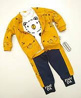 Детский костюм для мальчика размер 68,74,86 на 6,9,18 месяцев Турция Замеры в описании товара
