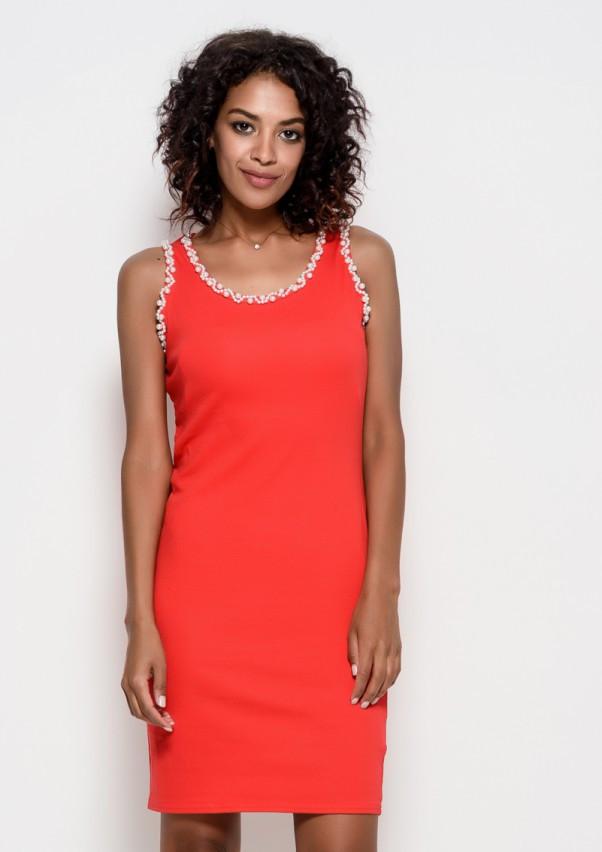 Платья  6223  S красный