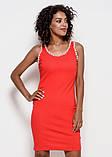 Платья  6223  S красный, фото 2