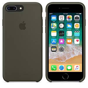 Чохол Silicone Case OEM for Apple iPhone 7 Plus/8 Plus Dark Olive