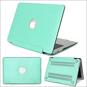 """Чехол накладка DDC PU для MacBook Pro 15"""" Retina (2012-2015) green"""