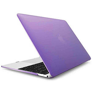 "Чохол накладка DDC пластик для MacBook 12"" matte purple"