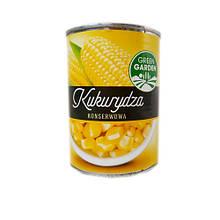 Кукуруза консервированная сахарная (сладкая) 400г Green Garden в ж/б, Польша