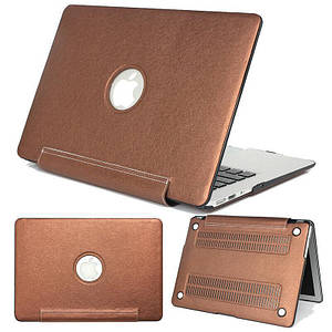 "Чохол накладка DDC PU для MacBook 12"" brown"