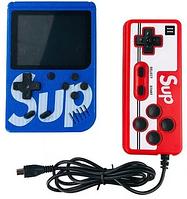 Игровая консоль денди портативная ретро приставка с джойстиком Sup 400 игр gamebox приставка супер марио 8 бит