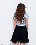 Сукні WN5-1113 S чорний/блакитний, фото 3