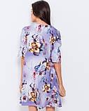 Тонке розкльошені сукні з воланами на рукавах, фото 3