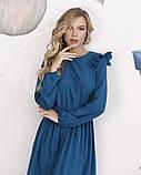 Платья  12197  S бирюзовый, фото 4