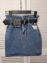 Коротка джинсова спідниця 3987 (АХ), фото 2
