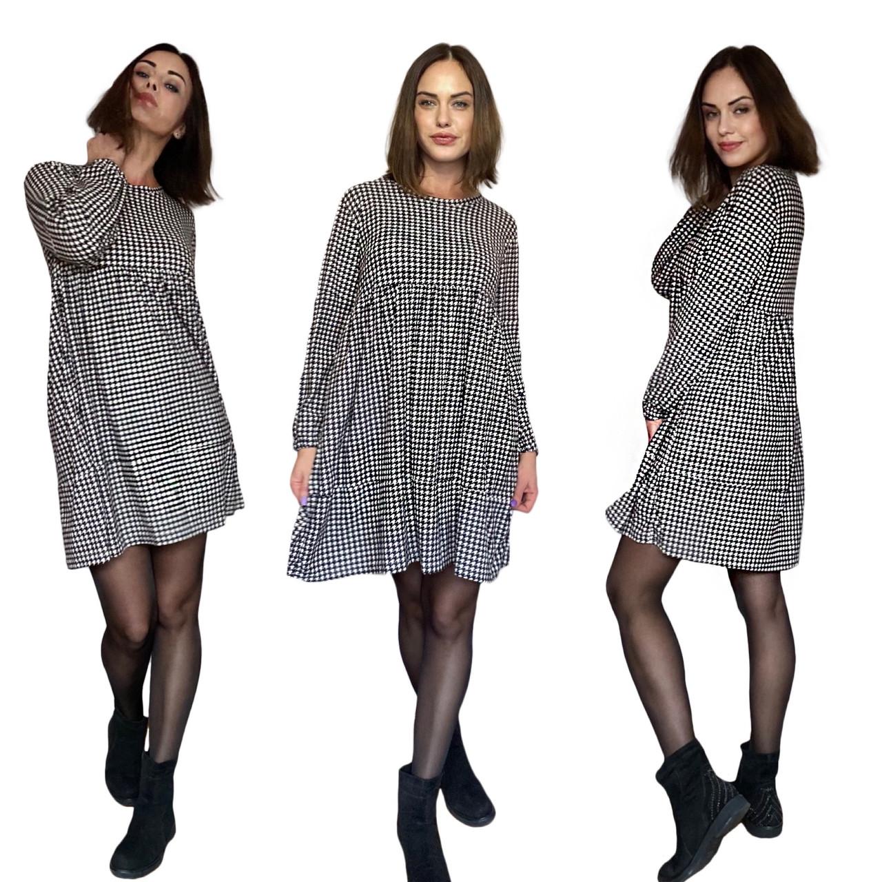 Турецкое Фабричное Платье Oversize 42-48