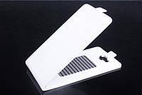 Чехол флип для Alcatel One Touch 8020D белый