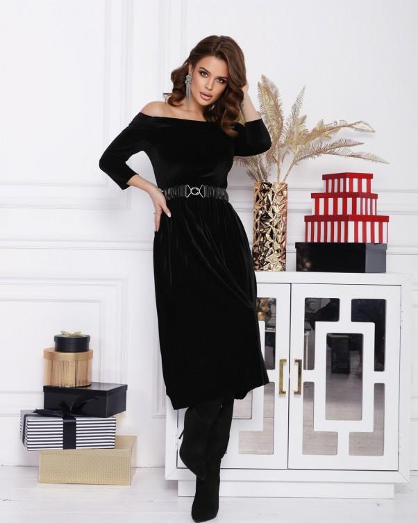 Платья  12364  L черный