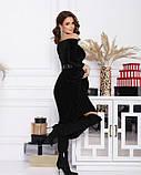 Платья  12364  L черный, фото 2