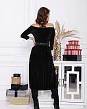 Платья  12364  L черный, фото 3