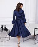 Платья  12380  S синий, фото 3