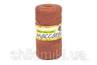 Эко Шнур Cotton Macrame, цвет  Миндальный