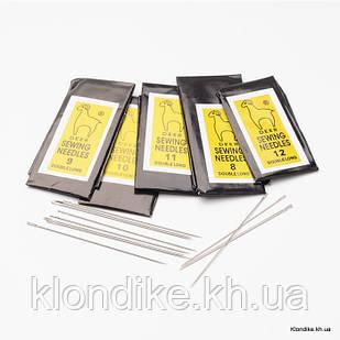 Иглы для Шитья Железные, 40~55x0.45~0.7мм (1 набор)
