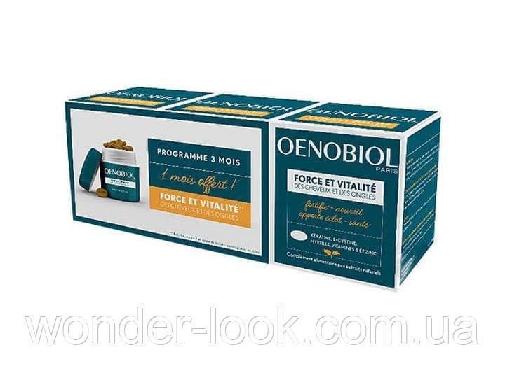 Oenobiol force et vitalite витамины для волос на 3 месяца, Франция